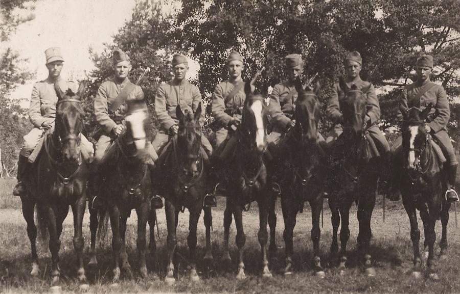 Regiment Huzaren tijdens mobilisatie!