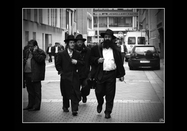 De Joods (orthodoxe) Wijk in Borgerhout Antwerpen...