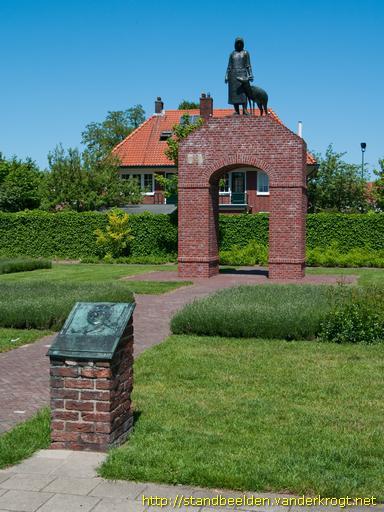 Monument ter ere verzet L.O./L.K.P., opgericht in Winterswijk!