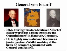 De familie Rothschild komt oorspronkelijk uit Hannover in Duitsland!