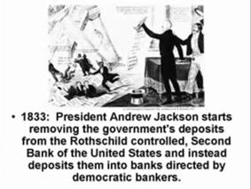 President Andrew Jackson is later dood geschoten...