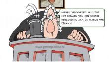 """Nederlandse """"onafhankelijke onpartijdige"""" rechtspraak in naam van de """"Koning(in)""""..."""